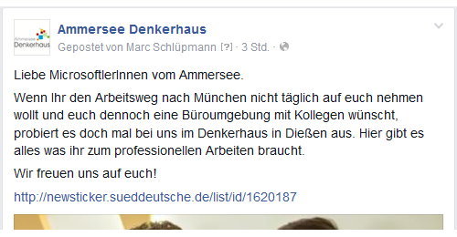 screen denkerhaus facebook